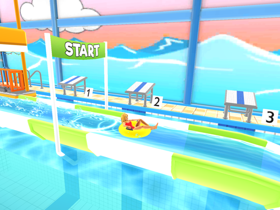 Uphill Rush Water Park Racing на iPad
