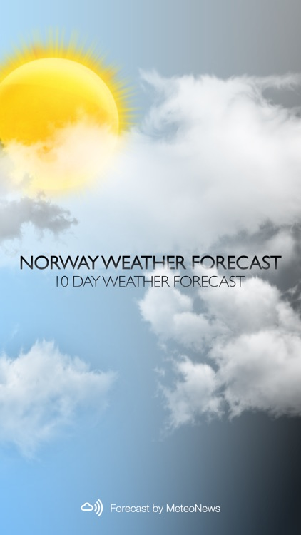 Weather for Norway