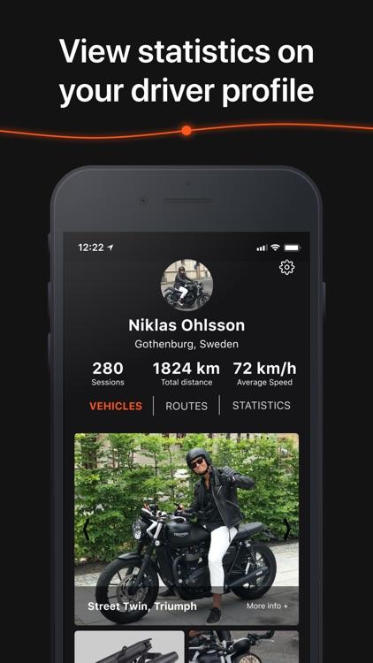 Detecht - Motorcycle App & GPS screenshot-6