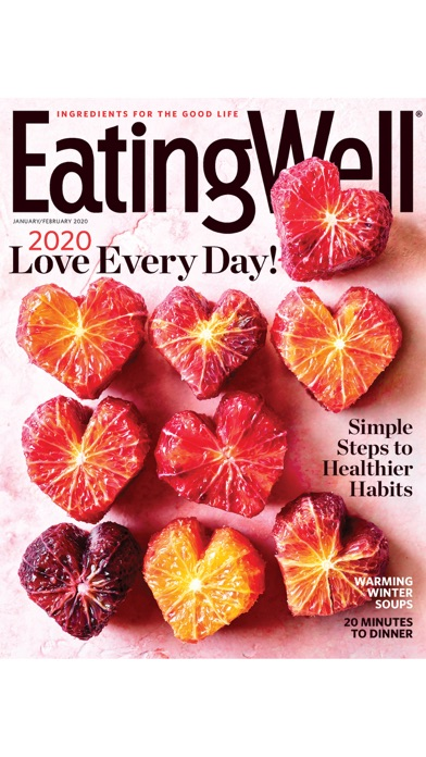 EatingWell Magazine Screenshot