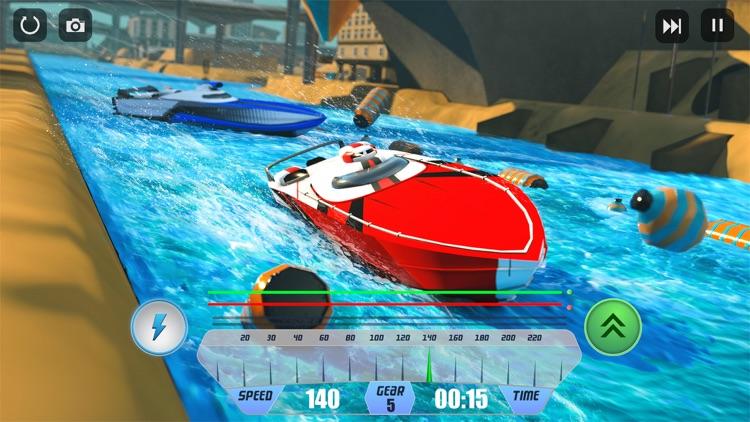 Speed Boat Racing Simulator 3D screenshot-0