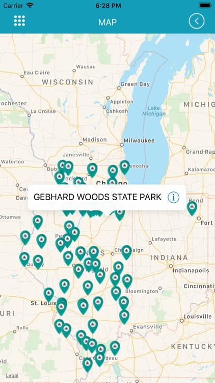 Illinois State Park screenshot-3