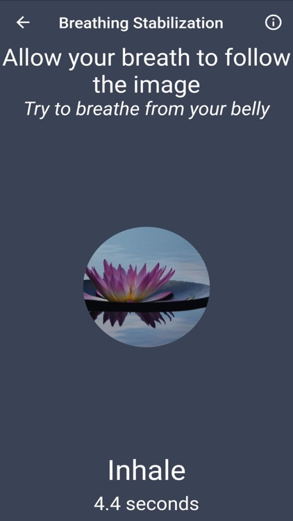 Anxiety Relief App