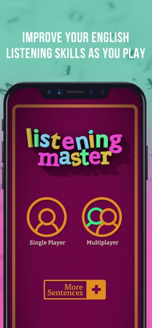 Learn English Listening Master Screenshot