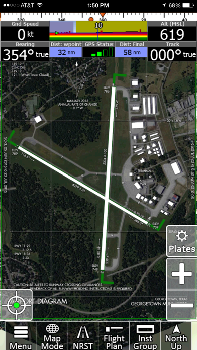 iFly GPS Screenshot