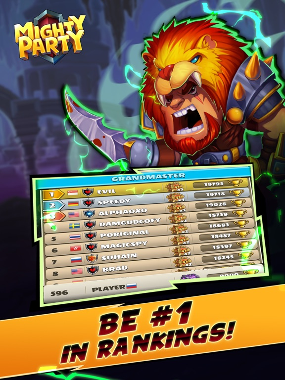 Mighty Party: Battle Heroes screenshot 11