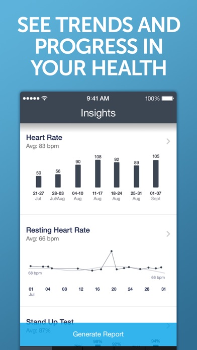 Screenshot for Instant Heart Rate+ HR Monitor in Australia App Store