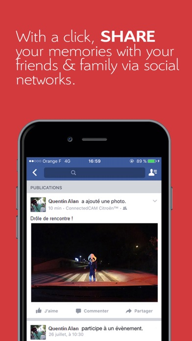 ConnectedCAM سيتروينلقطة شاشة4
