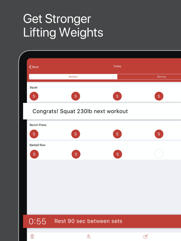 StrongLifts 5x5: The Simplest, Most Effective Workout to Get Stronger, Build Muscle and Burn Fat Fast screenshot