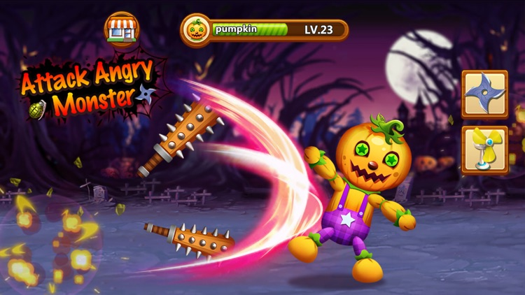 Attack Angry Monster screenshot-3