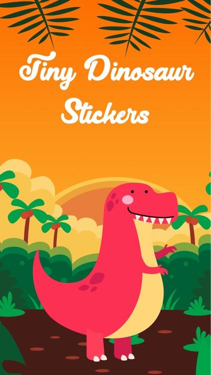 Tiny Dinosaur Stickers