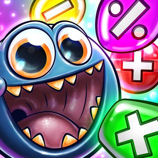 Monster Math For Kids - Games iOS App