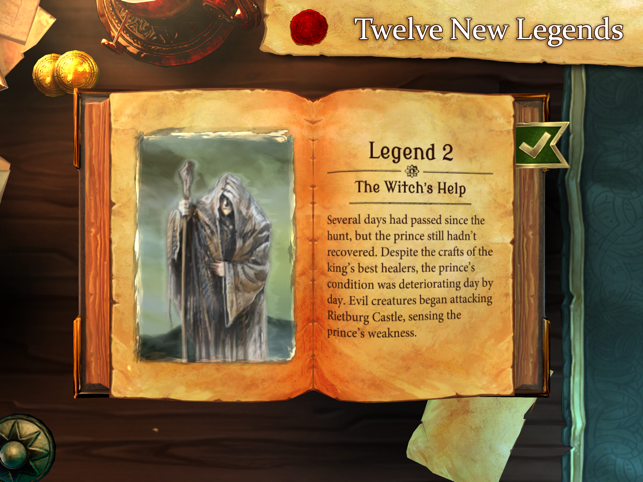‎Legends of Andor Screenshot