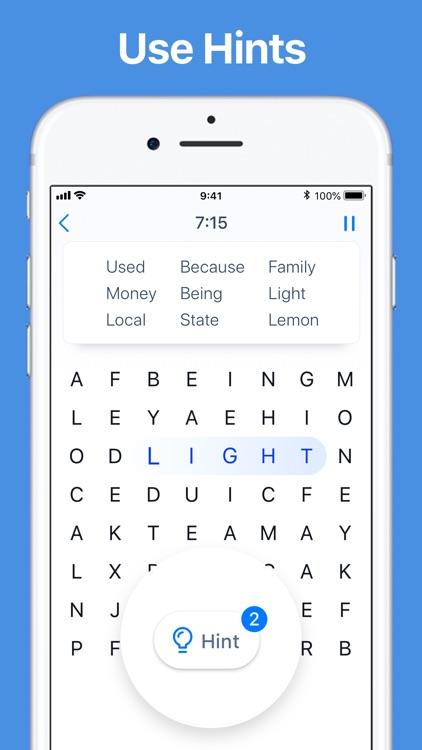 Word Search - Crossword Game screenshot-3