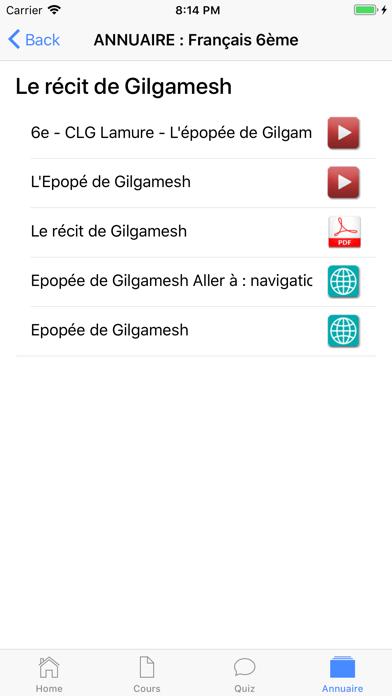 Français 6ème screenshot 7