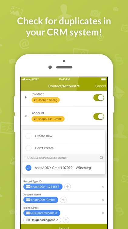 Business Card Scanner for CRM screenshot-3