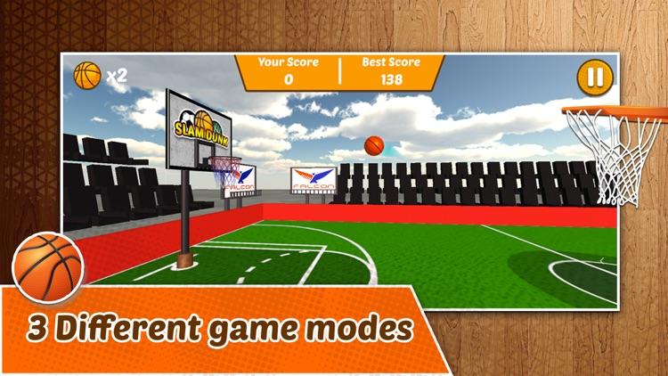 Slam Dunk - Basket Hoops Game screenshot-4