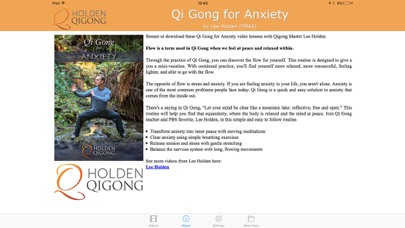 Qi Gong for Anxiety screenshot three