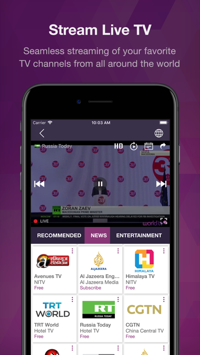 World TV GO | From NEW IT VENTURE CORPORATION | Mobile apps