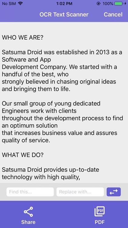 Text Scanner [OCR] Pro screenshot-3