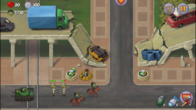 Zombie Town Defense screenshot one