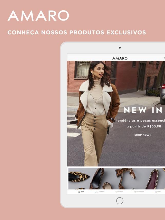 0203f0e1d  AMARO - Comprar Moda Feminina na App Store
