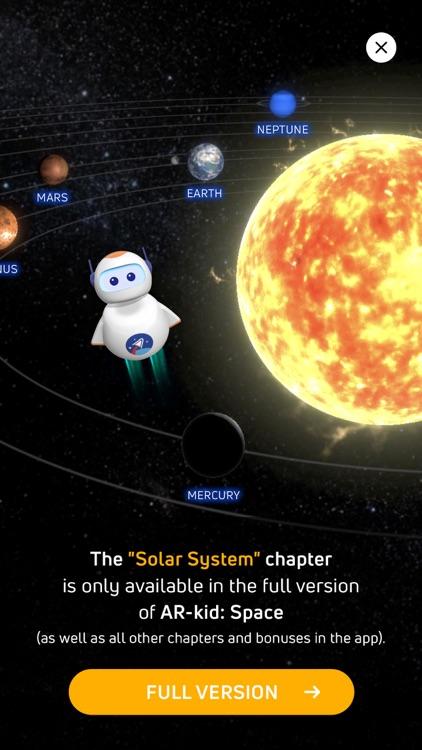 AR-kid: Space Lite screenshot-4