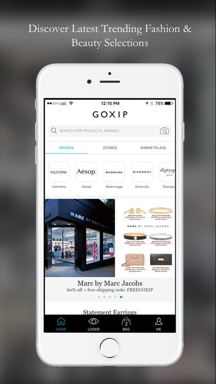 Goxip- Fashion Beauty Shopping screenshot-0