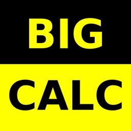 Big Calculator Low Vision