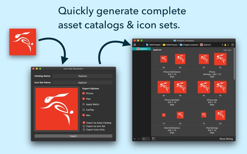 App Icon Set Generator review screenshots