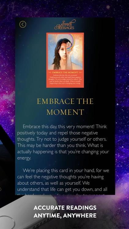 Spirit Messages Daily Guidance screenshot-4