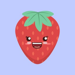 Strawberry stickers app
