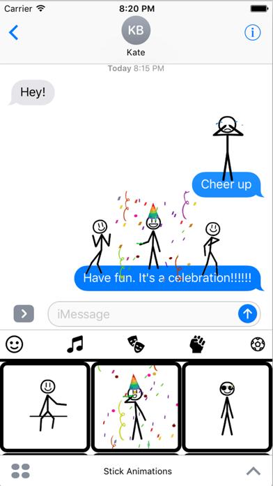 Stickmoji Stickers Animations