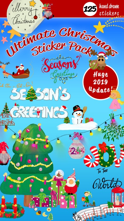 Ultimate Christmas Stickers
