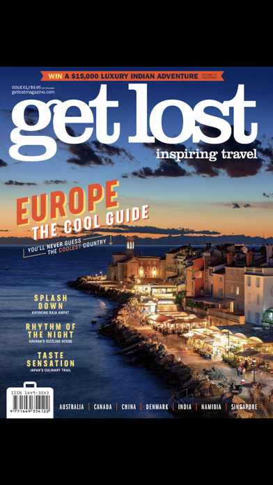 get lost Travel Mag screenshot one