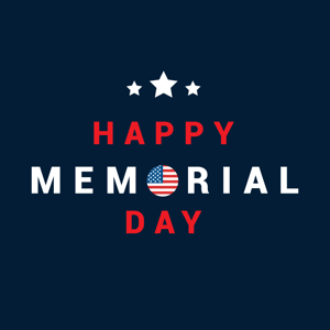 Memorial Day Cards & Wishes 01 - Stickers app