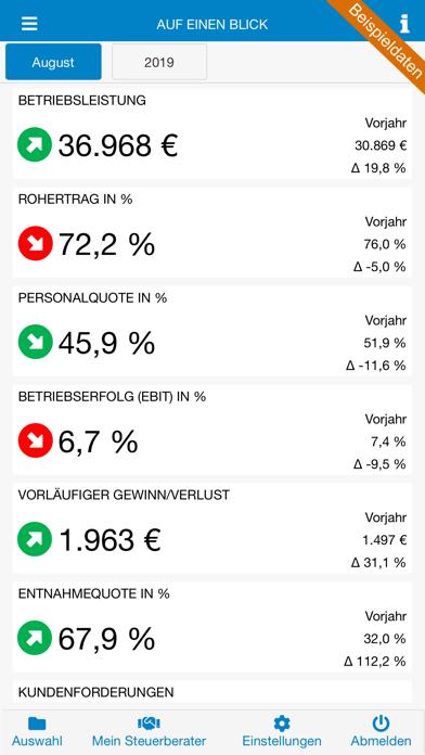 LAHL Reports screenshot one