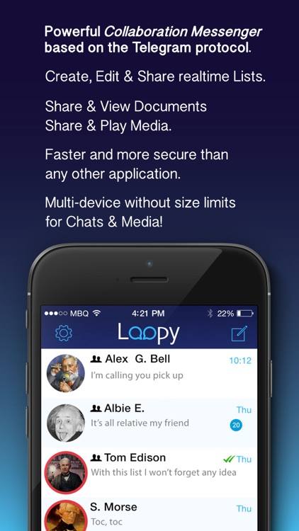 Loopy 2id Messenger Pro