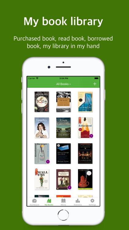 BookTree: bookshelf & note