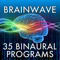 App Icon for Brain Wave™ 35 Binaural Series App in Denmark IOS App Store