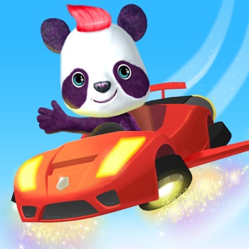 McPanda: Super Pilot Kids Game Logo