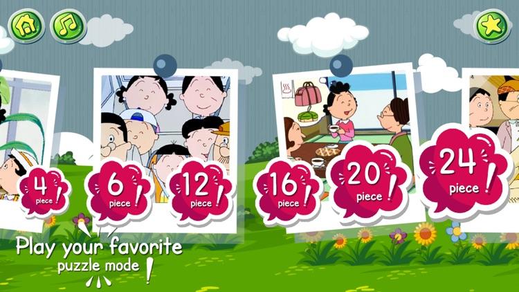 Cartoon jigsaw puzzles game screenshot-6
