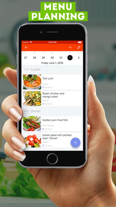 Screenshot for My Recipes (pocket recipes) in Azerbaijan App Store