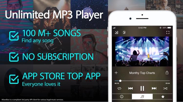 FREEMUSIC MB3: Music & Radio screenshot-0