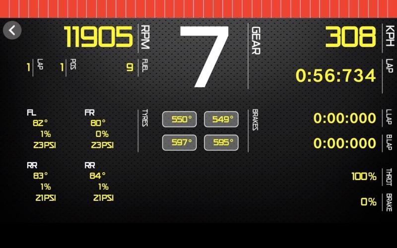 Sim Racing Dash for F2017 screenshot 2