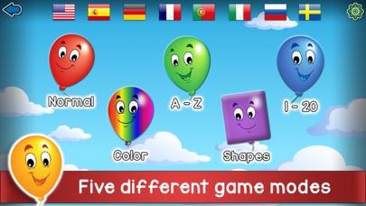 Kids Balloon Pop Language Gameのおすすめ画像1