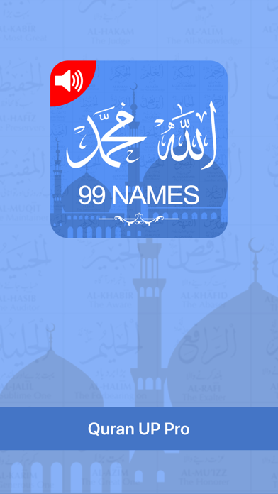 Screenshot for Allah & Muhammad 99 Names in United States App Store