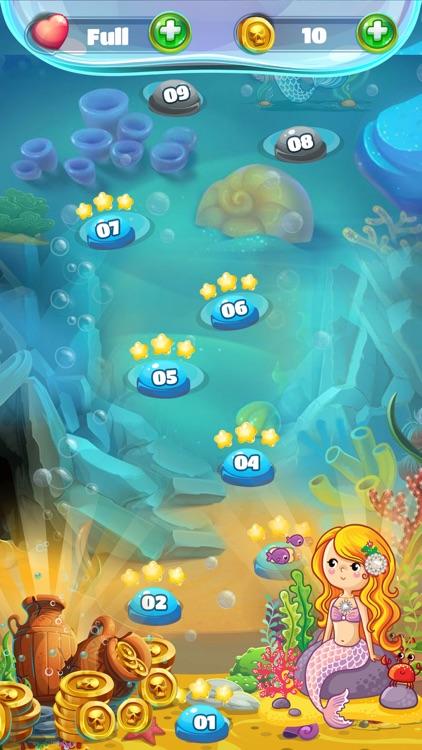 Mermaid Pearl - Match 3 screenshot-6