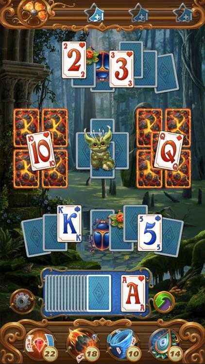 Solitaire Magic Story No WiFi screenshot-3