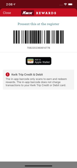 Kwik Rewards on the App Store